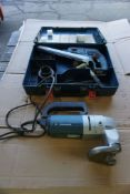 Lot of (2) Bosch Power Tools | (1) 8 Gauge Shear, Model No. 0601508034; (1) Cordless Rotary