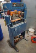 "Metal Pro Ironworker 4000   40 Ton Capacity; Mild Steel; 1/4"" x 3 x 3 Angle; 1/4 x 6"" Bar Shear; 3/"