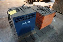 Lot of (2) Battery Chargers   (1) MAC Phazer 36V, Model No. 18MP600S, 208/240/480V, 3PH; (1) C&D