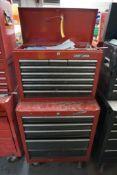 Craftsman Rolling Toolbox w/Assorted Wrenches