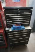 Craftsman 13-Drawer Rolling Toolbox w/Pliers and Punch Tools