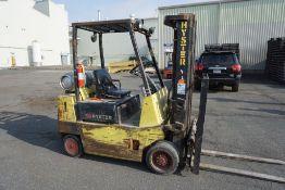 Hyster 50 Propane Forklift   Model No. S50XL; Serial No. C187V01827N; 4,500 lb Max Capacity; Truck