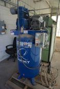 Quincy QT Pro 5 HP Two-Stage Air Compressor   Model No. 251CS80VCB; 230V; 175 PSIG; 80 Gallon