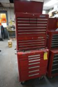 Kennedy Rolling Toolbox w/Waterloo Toolbox and Contents