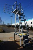Truck Inspection Ladder | 500 lb Capacity; 550 lb Counter Weights