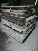 """Lot of (116) Medalist Concrete Forms 