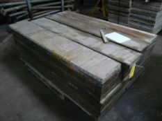 "Lot of (72) Medalist Concrete Forms | 12"" x 60""; Lot Loading Fee: $10.00"