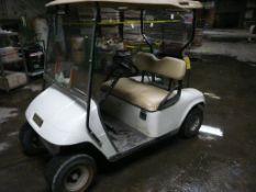 E-Z-GO TXT 36V Golf Cart | Includes Profit Model 1-36018-04 Battery Charger; Lot Loading Fee: $10.