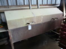 BBQ/Smoker | 6' x 2' Cooking Area; Lot Loading Fee: $10.00