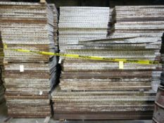 """Lot of (858) Medalist Concrete Forms 