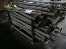 """Lot of (58) Post Shores 