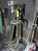 "Orbit Drill Press | Model No. QR1420F; 1/2"" Chuck; 115/230V; Lot Loading Fee: $10.00"