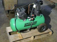 Speedaire Tank Mounted Air Compressor | Model No. 52YM09; 135 PSI; 15 Gal; 120V; Lot Loading Fee: $