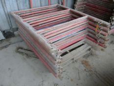 Lot of (14) Pieces of 10K Frame Concrete Shoring | 4' x 5'; Lot Loading Fee: $10.00