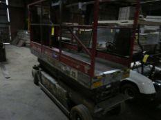 MEC Scissor Lift | Model No. 2034; 24V; 20' Max Height; 750 lb Capacity; Lot Loading Fee: $10.00