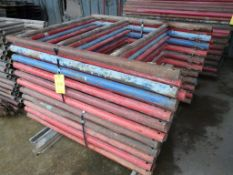 Lot of (25) Pieces of 10K Frame Concrete Shoring | 4' x 5'; Lot Loading Fee: $10.00