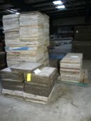 "Lot of (224) Metalist Concrete Forms | 24"" x 24""; Lot Loading Fee: $10.00"