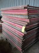 Lot of (32) Pieces of 10K Frame Concrete Shoring | 4' x 6'; Lot Loading Fee: $10.00