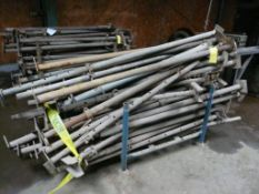 """Lot of (48) Post Shores 