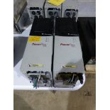 Lot of (2) Allen Bradley Powerflex 700 Drives | Cat No. 20BD8P0A0AYNANN0; 5 HP; 480V