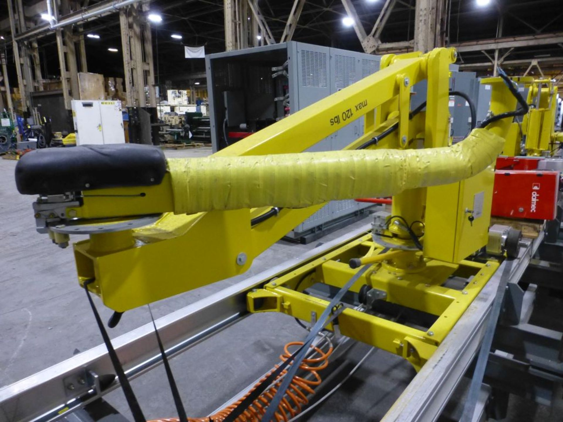 Dalmec Industrial Manipulator with Attachment | Type: PMS; Max Load 120 lbs; Pressure: .58 MPS; - Image 3 of 8
