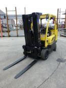 Hyster 8,000 lb Forklift | Model No. S80FT-BCS; Serial No. H004V02368L; Mfg: 2013; Weight: 16,420