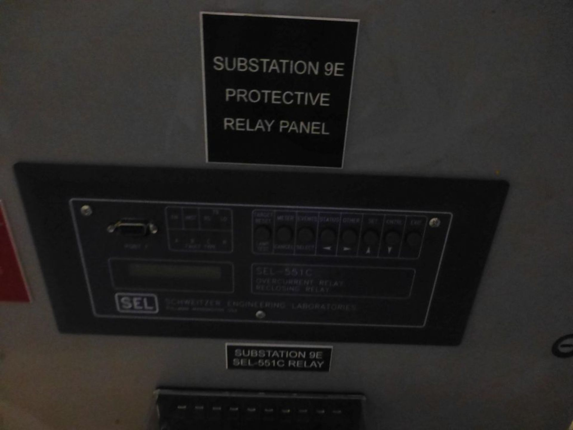 Substation Protective Relay Panel - Image 11 of 14