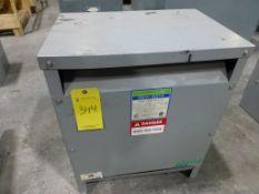 General Signal Heavy Duty Transformer | Cat No. T5H 305; 30 KVA; High Voltage: 480 Delta; Low