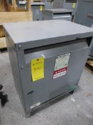 EGS Electrical Group General Purpose Transformer | Cat No. T5H305; 30 KVA; High Voltage: 480