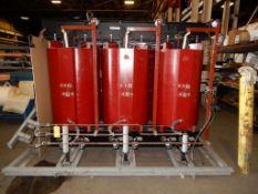 ABB Power T&D Co. Inc. Cast Coil Transformer | 4160 Delta; 5 Voltage Taps; 480/277; 3000 / 4500 KVA;