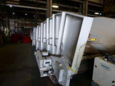 "Mayfran International Steel Belt Conveyor | Model No. STEEL BELT CONVEYOR, 56"" Wide Belt, 100"""