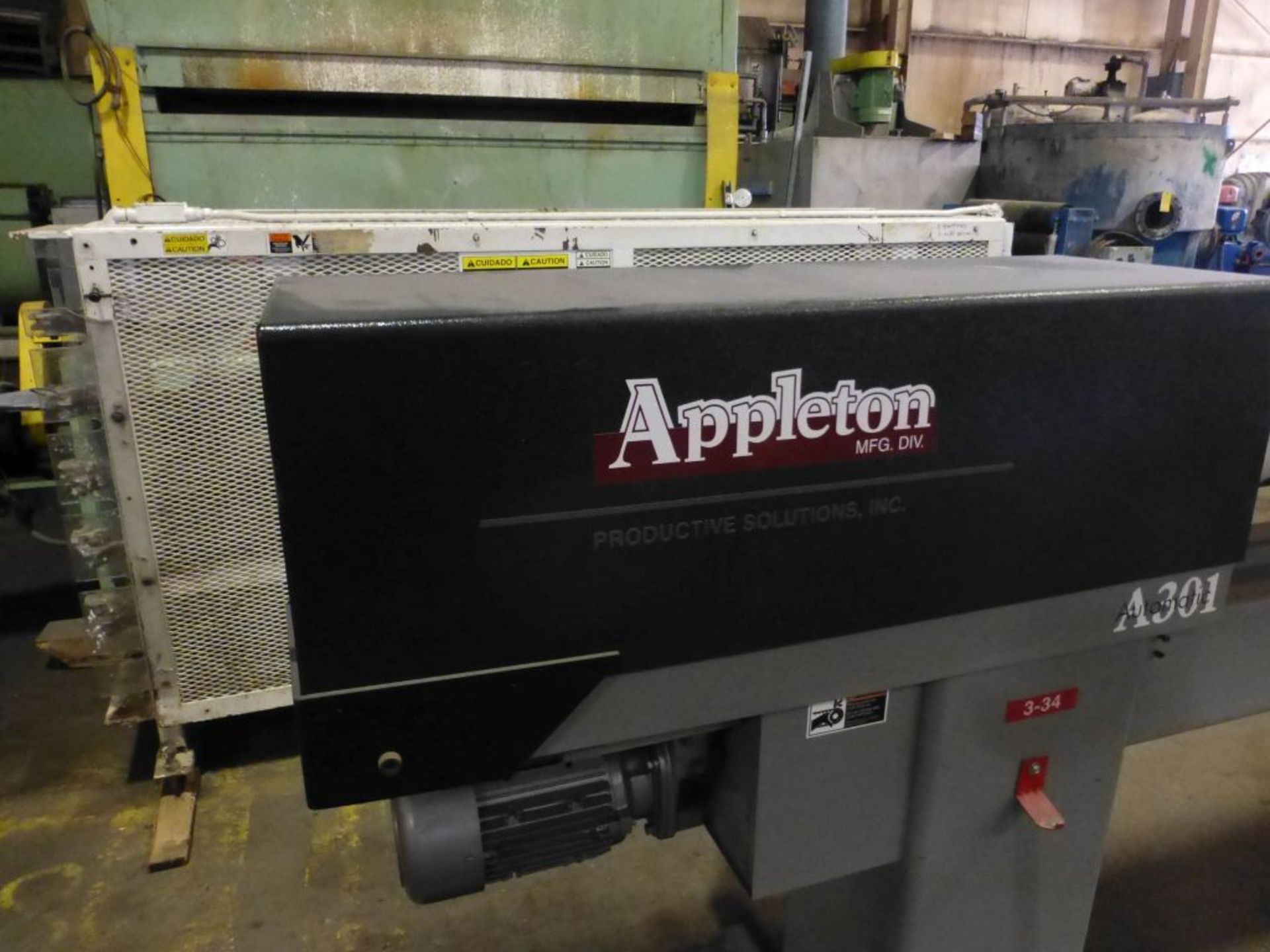 Appleton Automatic Core Cutter | Model No. A301; 2 HP; 460V; 3PH; Mfg: 2010 - Image 3 of 19