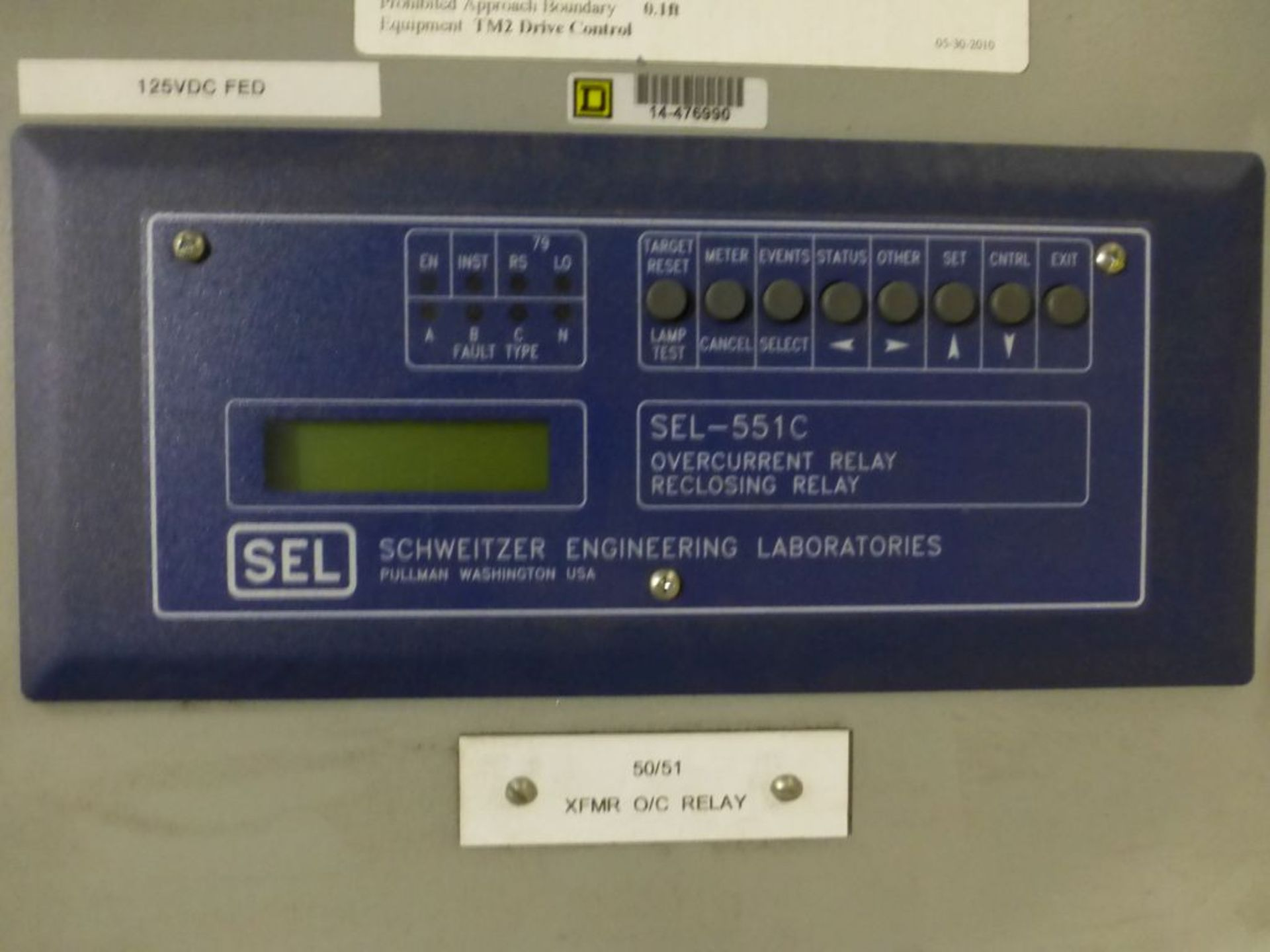 Substation Protective Relay Panel - Image 3 of 14