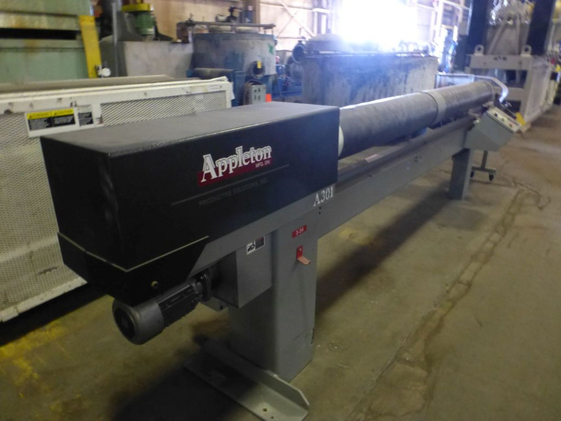 Appleton Automatic Core Cutter | Model No. A301; 2 HP; 460V; 3PH; Mfg: 2010 - Image 2 of 19