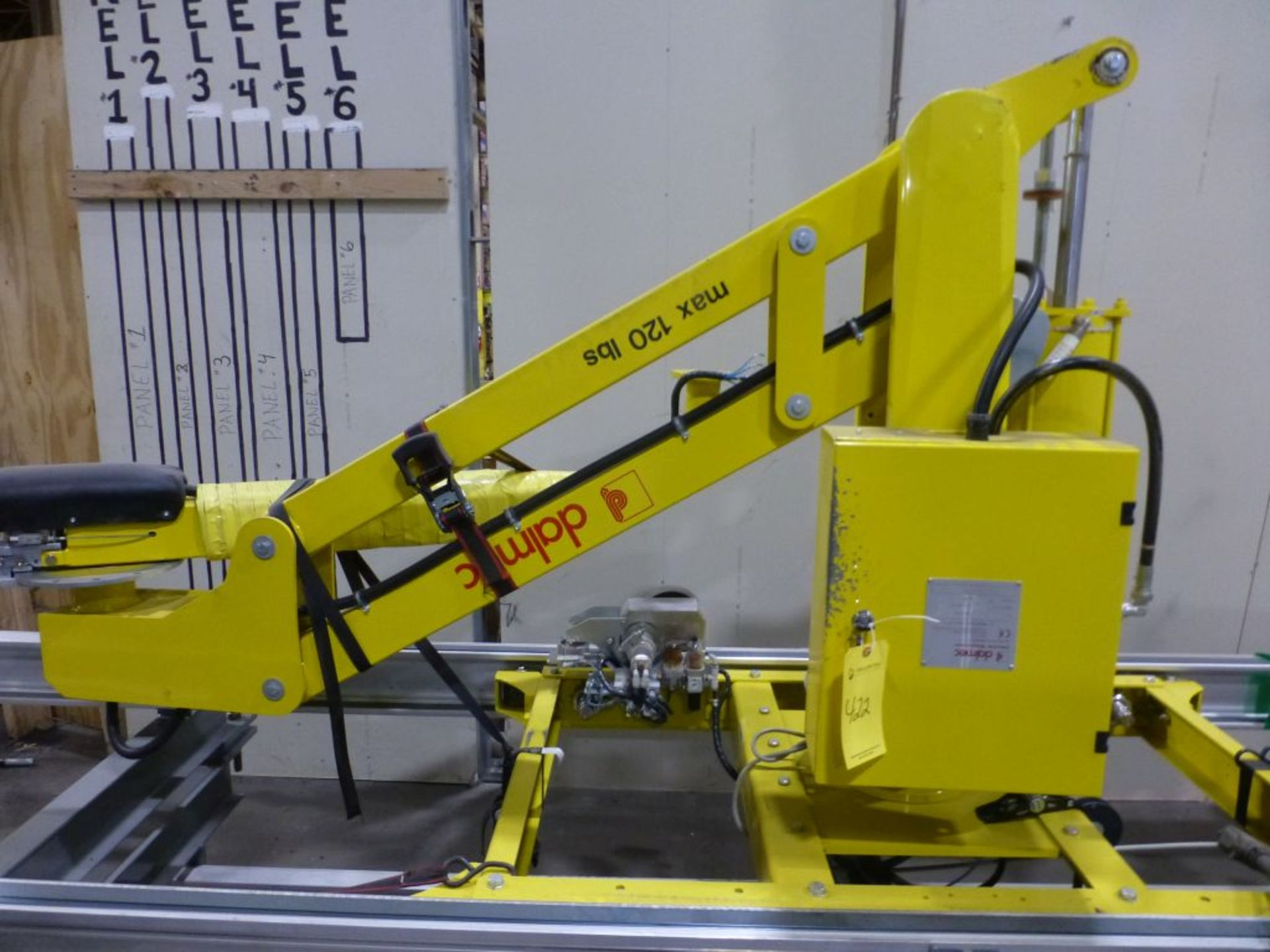 Dalmec Industrial Manipulator with Attachment | Type: PMS; Max Load 120 lbs; Pressure: .58 MPS; - Image 4 of 7