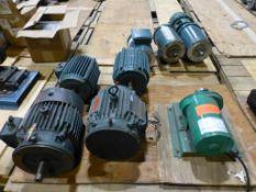 Lot of Assorted Motors | Brands Include:; Reliance Electric; Allen Bradley; Baldor Reliance; New,