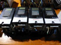 Lot of (4) Allen Bradley Powerflex 70 Drives | (1) Cat No. 20AD2P1A0NYNNCC0; (3) Cat No.