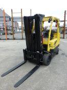 Hyster 8,000 lb Forklift | Model No. S80F-T-BCS; Serial No. H004V02375L; Mfg: 2013; Weight: 16,420