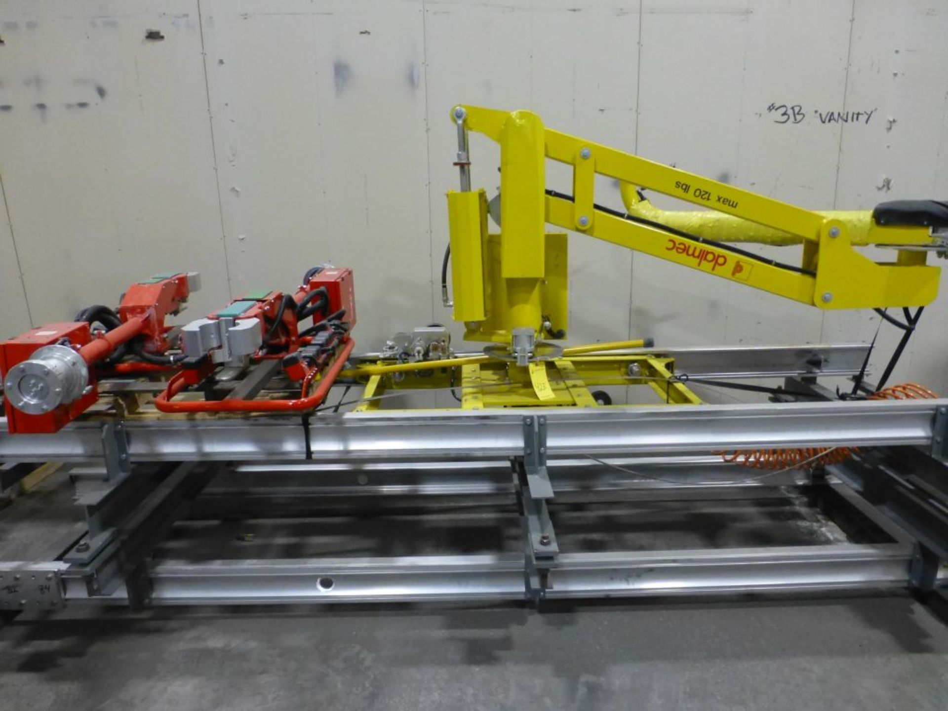 Dalmec Industrial Manipulator with Attachment | Type: PMS; Max Load 120 lbs; Pressure: .58 MPS;