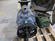 Nash Vacuum Pump w/Motor | Model No. CL 1001; Motor:; WEG, 40 HP; 3/60/208-230/460V; 1775 RPM; S/