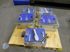 Lot of (5) Kadant EMO III Panel Single Station Control Panels | (2) Model No. 17-2257; File No.