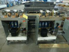 Lot of (2) GE AC Contactors | (1) Model No. 2814E-120AC2AA, 400A, 4800V, CY-60; (1) Model No.