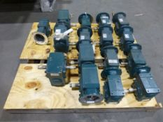 Lot of Assorted Speed Reducers | Brands Include:; Reliance; Dodge; New, Unused Spares