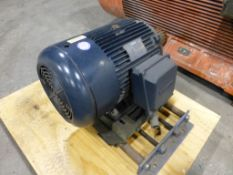 Lesson 30 HP Motor | Cat No. 6150005-60; 30 HP; 208-230/460V; 1180 RPM; Frame: 326T; 3PH; New,