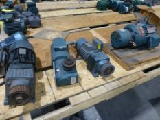 Lot of Assorted Motors w/Brakes | Brands Include:; Reliance; Sew-Eurodrive; New, Unused Spares