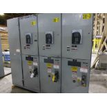 GE Limit Amp Control Panel | Includes:; (3) GE Multilin 369 Motor Management Relays; (3) GE 400A