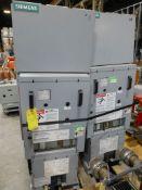 Lot of (2) Siemens AC High Voltage Circuit Breakers | Type: 5MSV-250B-1200-58; 1200V; 60 KV; 600