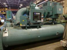 York by Johnson Controls Max E Centrifugal Chiller | Unit Model No. YKE4QQ7-CPG; 550 Ton; Mfg: 2013;