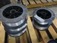 Lot of (5) Spools of Washington Alloy Welding Wire | Part No. TS-316L 093; ER316L; Spec: AWS A5-9