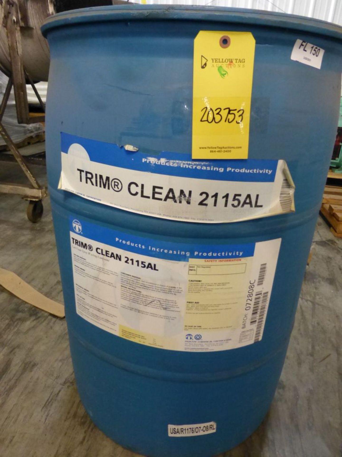 TRIM Clean 2115AL Low Foam Spray Washing Compound | Batch No. 072808C; 491 lbs